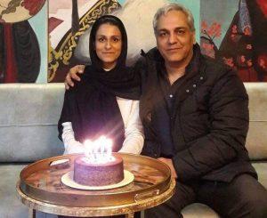 عکس مهران مدیری با دخترش